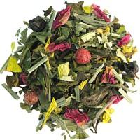 Mengeling van groene en witte  thee - Kir Royal