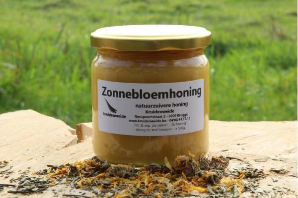 Zonnebloemhoning 500g