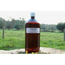 Amandelolie 100% Puur Kruidenweide fles 1liter