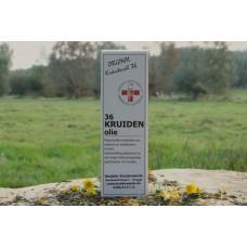 Original 36 Kruidenolie glazen flesje 100ml