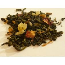 Groene thee - Gepassioneerde vruchtendroom - Kruidenweide - 100g
