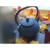 Gietijzeren theepot 'Secret de Gourmet' grijsblauw