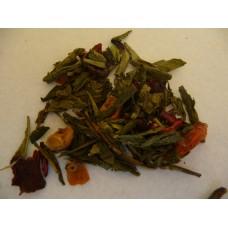 Groene thee Goji Punch - Kruidenweide - 100g