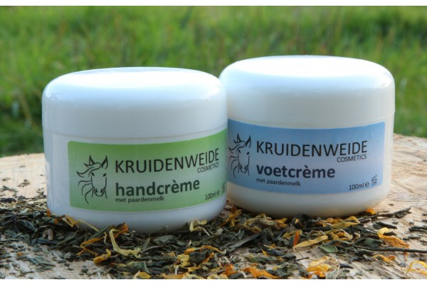 Hand- en voetcrème Set 2 x 100ml